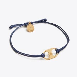 Tory Burch Embrace Ambition Bracelet Blue